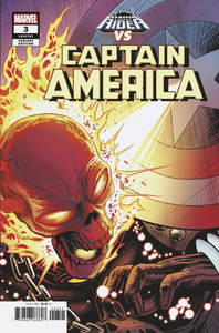 CAPTAIN AMERICA #3 ZIRCHER COSMIC GHOST RIDER VAR