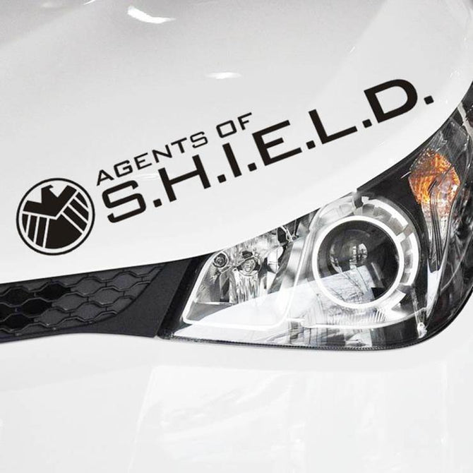 High quality Agents of Shield Reflective Car Sticker - gopowear.com