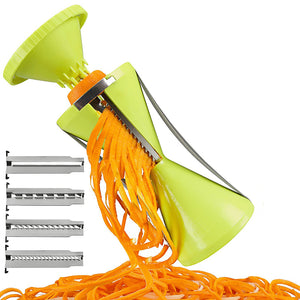 Manual 4-Blade Spiral Vegetable Slicer