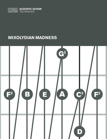 Acoustic Guitar Techniques:  Mixolydian Madness