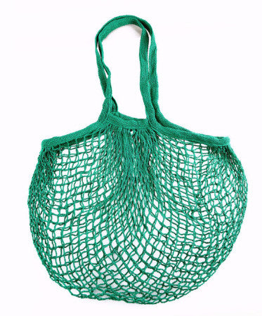 Cotton Mesh Country Green Eco Bag | Cool Eco Bags