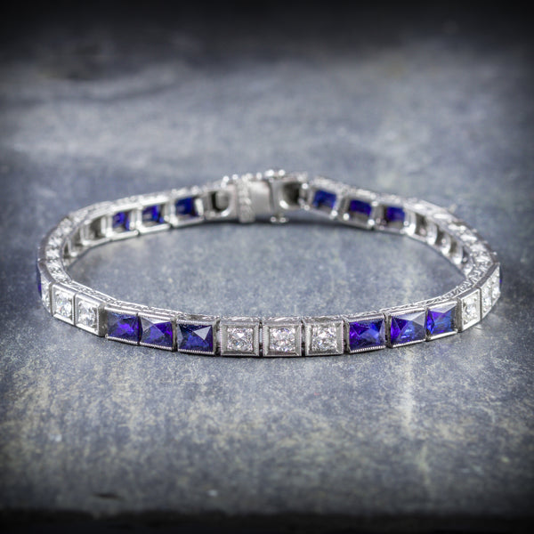 Each Sapphire is 0.60ct each and there are 18 in total FRONT