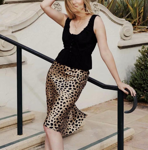 Fashion Sexy Leopard Print Skirt