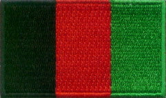 "Afghanistan Flag Patch 1.5"" x 2.5"""