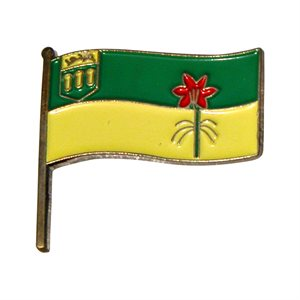 Saskatchewan Flag Lapel / Hat Pin 7/8""