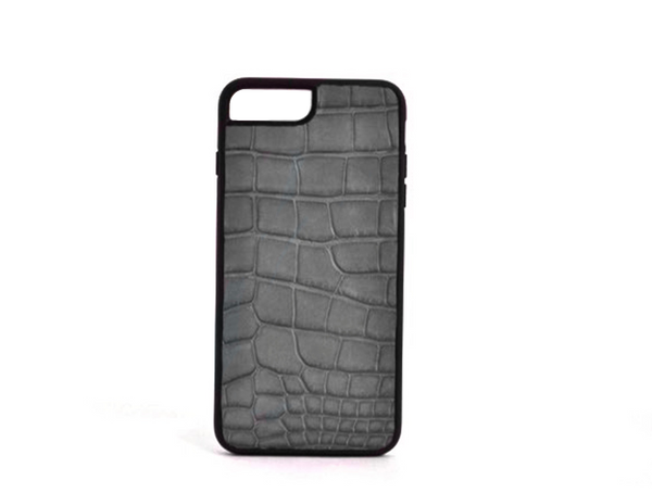 INLAY IPHONE 7 PLUS & 8 PLUS CASES IN ALLIGATOR - ASSORTED COLORS