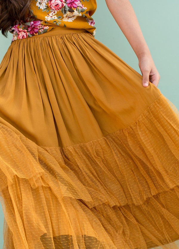 *NEW* Ada Skirt in Mustard