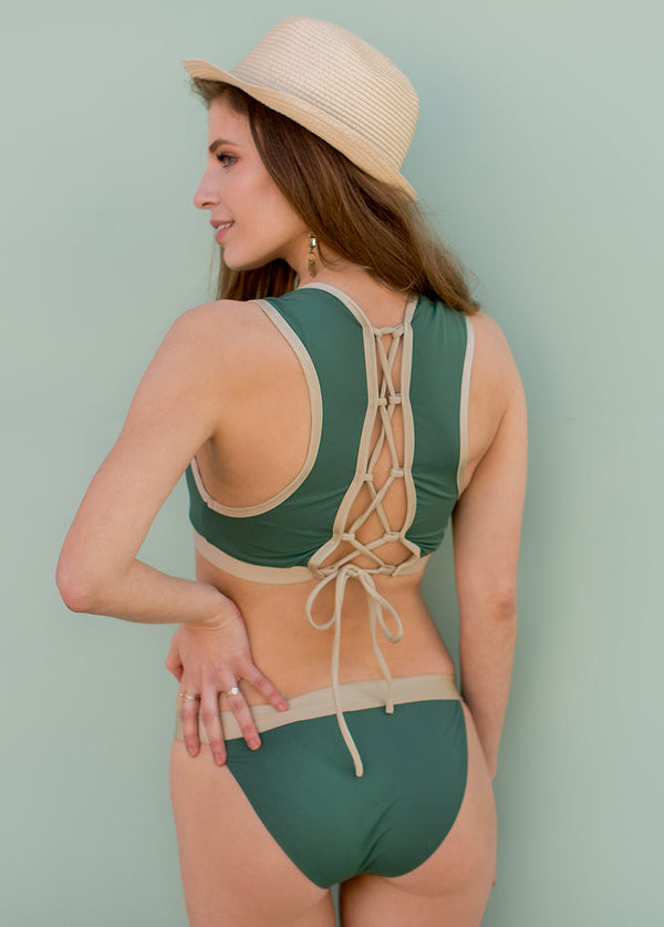 *NEW* Maxine Two-Piece Swimsuit in Spruce