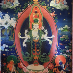 Avalokiteshvara 8-Armed Thangka