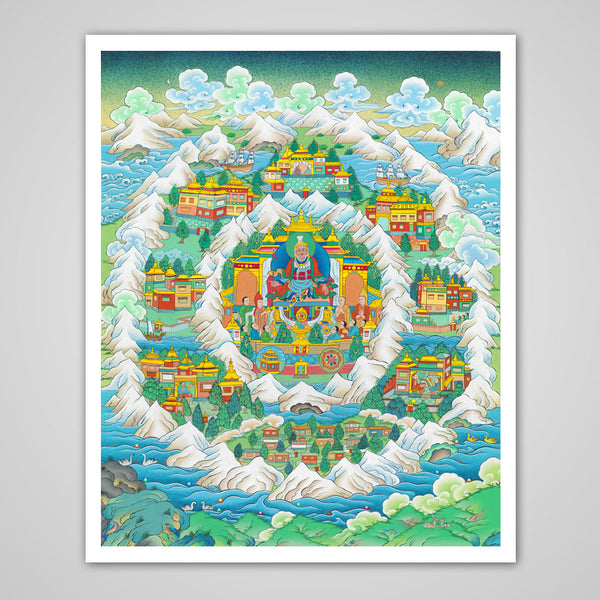 The Sublime Realm of Shambhala