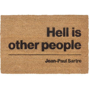 Hell is Other People Doormat