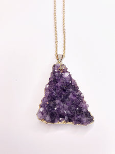 Amethyst Goddess Necklace