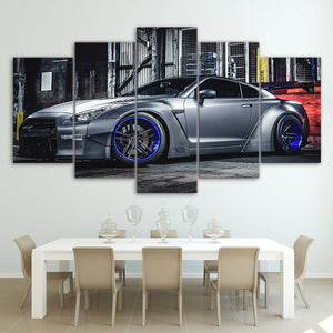 Nissan GTR Canvas Wall Art