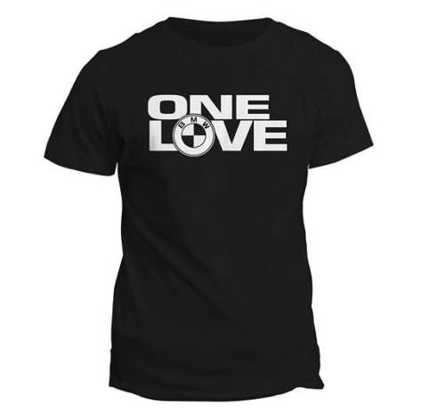 One Love BMW Logo Men's T-shirt