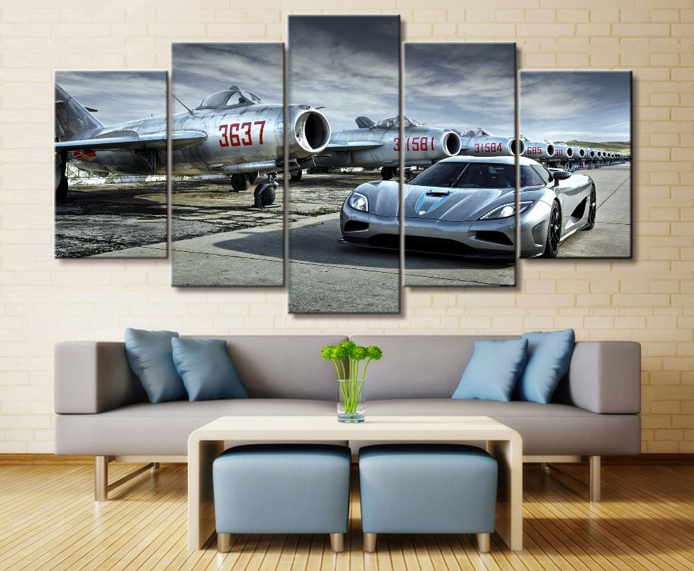 Koenigsegg Canvas Wall Art