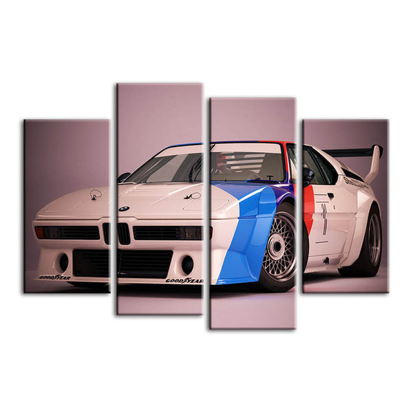 BMW M1 Canvas Wall Art