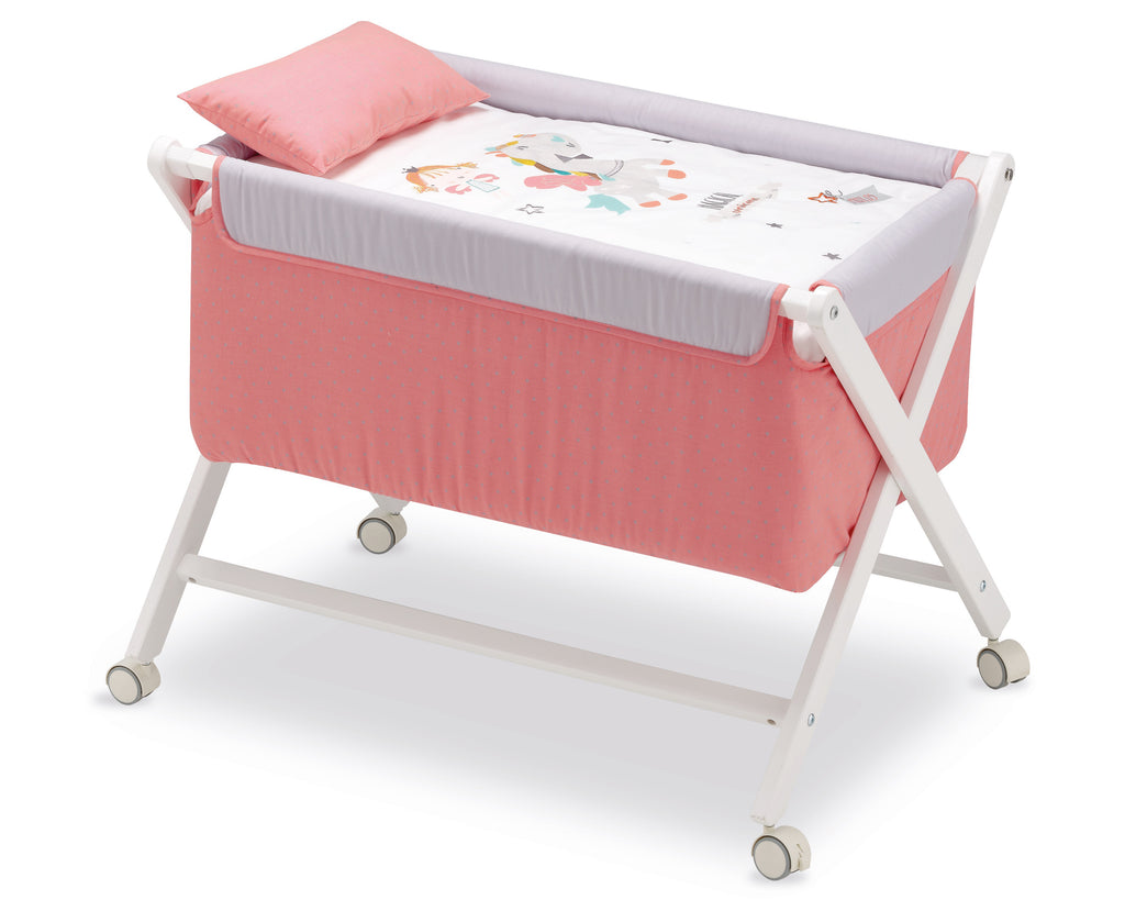 Strawberry Unicorn  <br>Folding Cradle - Mooney's