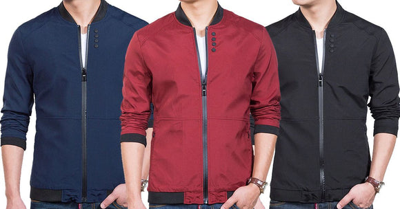 Combo of 3 New Casual Solid Fashion Slim Men's Shirts