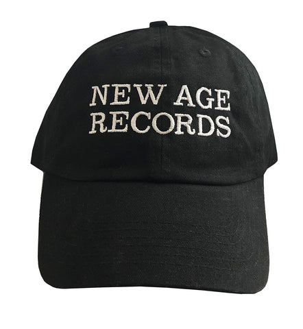 New Age Records Dad Hat - Black