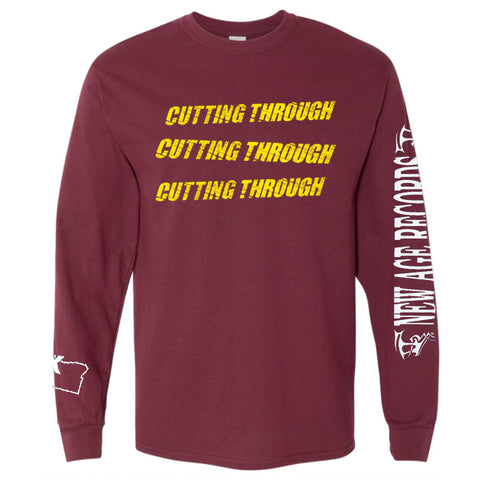 "Cutting Through ""Straight Edge"" Long Sleeve Shirt"