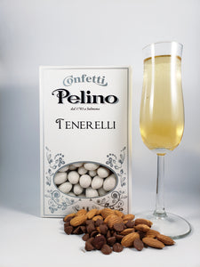 Confetti Tenerelli Milk Chocolate Almond - Champagne Flavored - 500 g