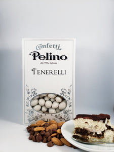 Confetti Tenerelli Milk Chocolate Almond - Tiramisu Flavored - 500 g