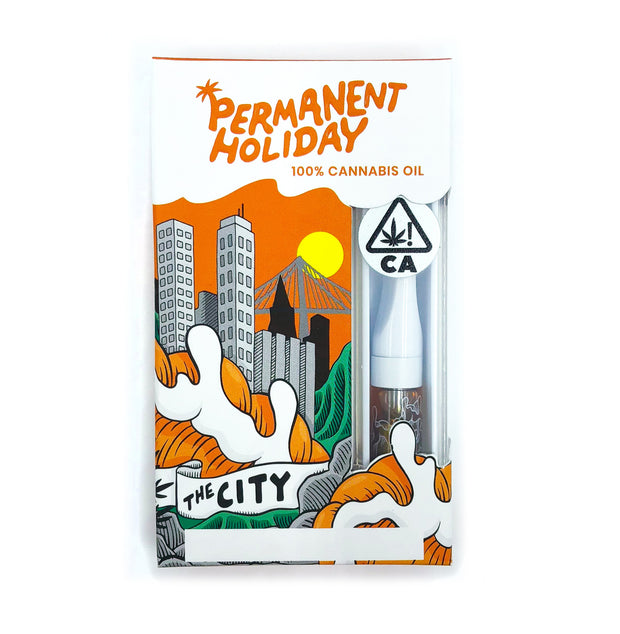Permanent Holiday Live Resin Cartridge