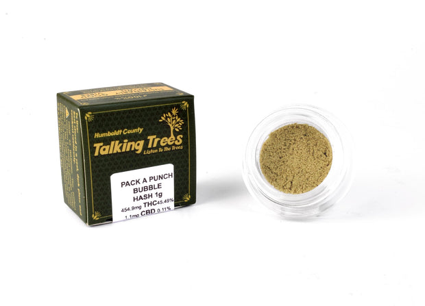 Talking Trees Bubble Hash