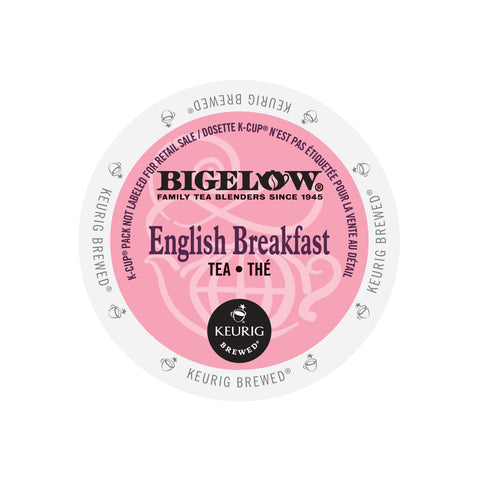Bigelow Tea English Breakfast K-Cup® Pods (Case of 96)