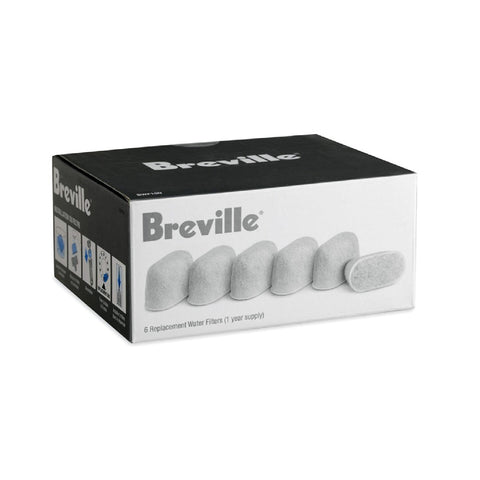 Breville Replacement Water Filters (6 Pack) (BWF100)