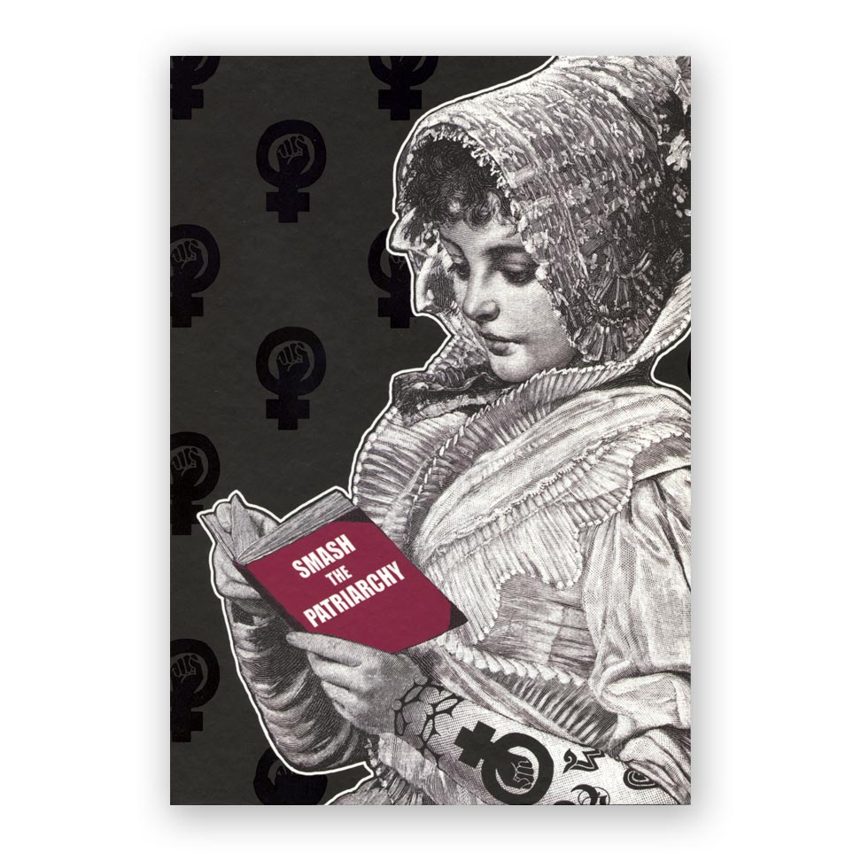 Smash the Patriarchy Hardcover Notebook