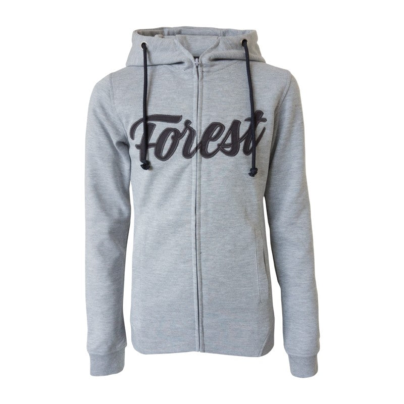 NFFC Womens Grey Forest Zip Hoodie