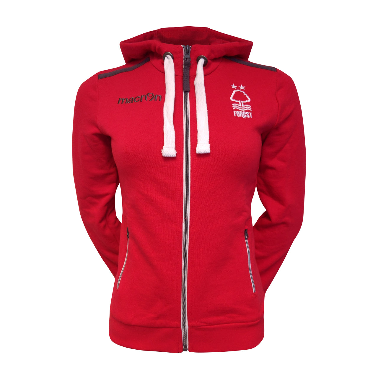 NFFC Red Womens Fan Hoodie