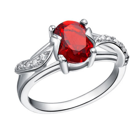 Ruby Engagement Ring - 08AB21