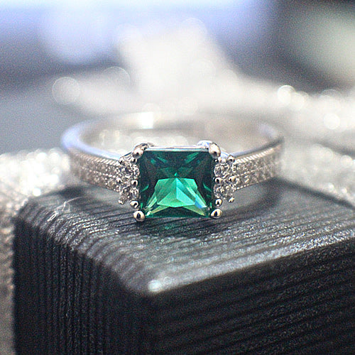 Emerald Engagement Ring - 09AB20