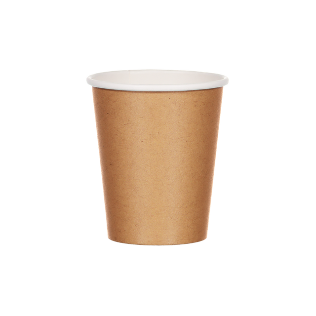 Single Walled Hot Cup - Au Naturel