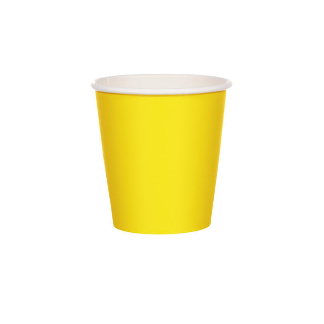 Single Walled Hot Cup - Hello Yellow