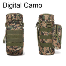 Load image into Gallery viewer, Outdoors Molle Water Bottle Pouch Tactical Gear Kettle Waist Shoulder Bag for Army Fans Climbing Camping Hiking Bags