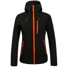 Load image into Gallery viewer, Outdoor Women Waterproof Rain Coat  Camping Hiking Clothing Female Windproof Soft Shell Fleece Skiing Jackets