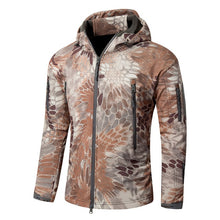 Load image into Gallery viewer, SJ-MAURIE Outdoor Men Military Tactical Hunting Jacket Waterproof Fleece Hunting Clothes Fishing Hiking Jacket Winter Coat