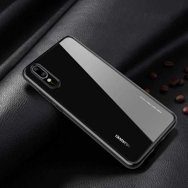 Transparent Silicone Case For Huawei P20, P20 Lite  P20 Pro