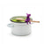 Agatha Spoon holder & steam releaser