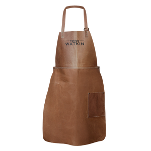 Tomos Watkin Tan Leather Apron - Tomos Watkin