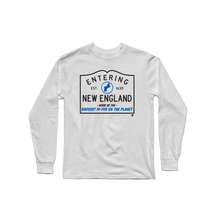 Welcome to New England Longsleeve Shirt