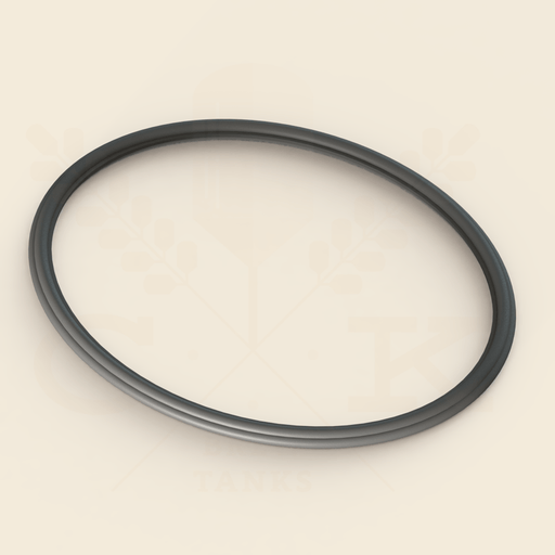 580 mm x 480 mm  | Side Oval Manway Gasket | EPDM