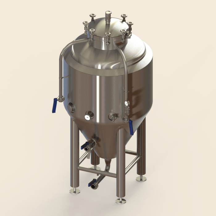 3.5 BBL | Uni-tank Fermenter | Jacketed & Insulated