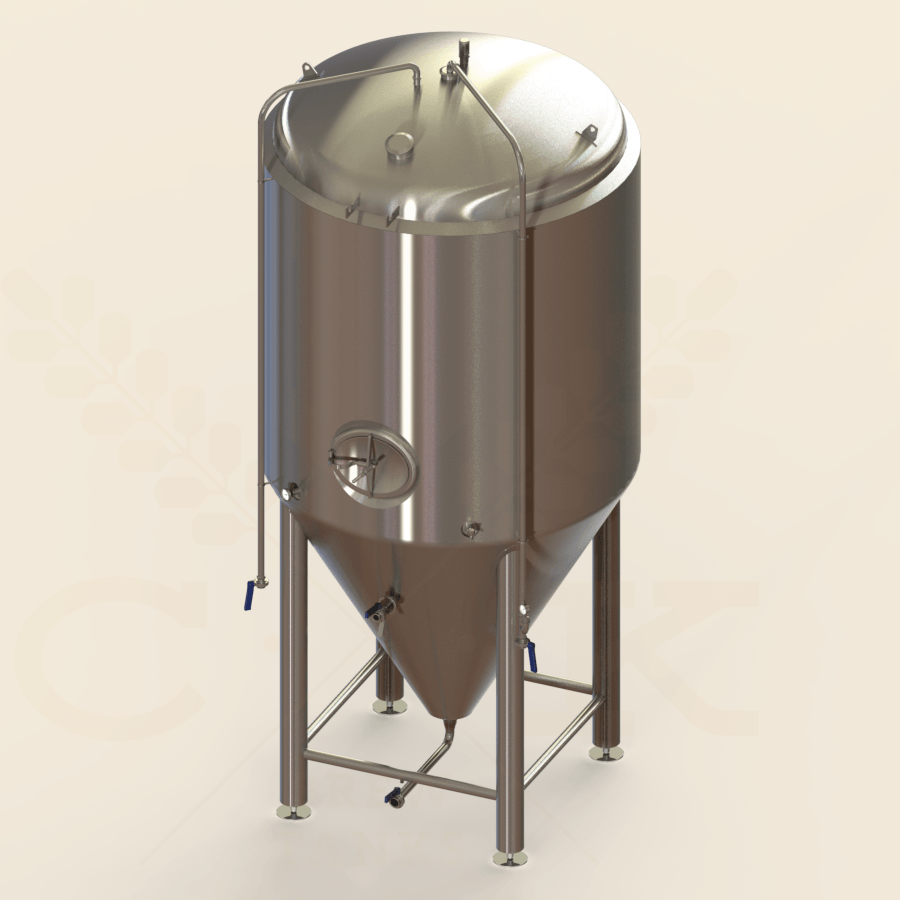 50 BBL | Uni-tank Fermenter | Jacketed & Insulated
