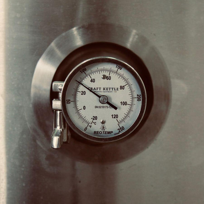 30 BBL | Uni-tank Fermenter | Jacketed & Insulated