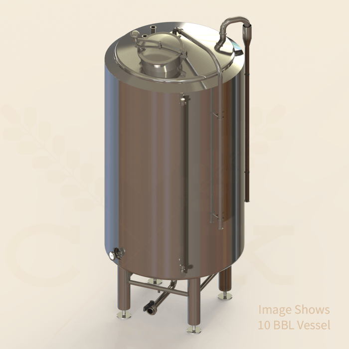 90 BBL | Cold Liquor Tank | Jacketed & Insulated