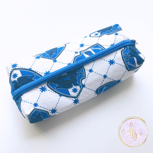 Blue House Wizard Pencil Case